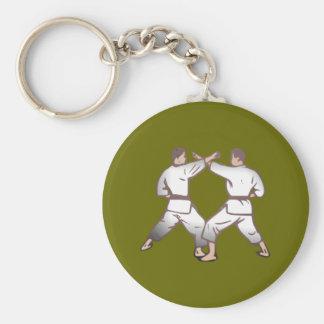 Kampfsport martial arts standard runder schlüsselanhänger