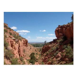 Kanab, Utah, wie von der Squaw-Spur gesehen Postkarten