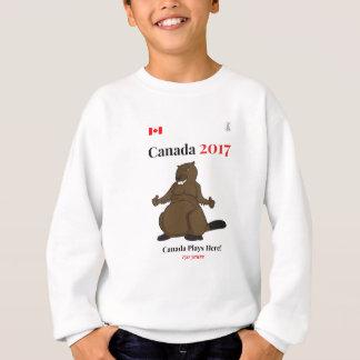 Kanada 150 im Jahre 2017 Biber-Kanada-Spiele Sweatshirt