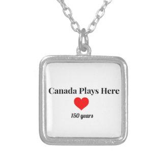 Kanada 150 im Jahre 2017 Kanada spielt hier Versilberte Kette