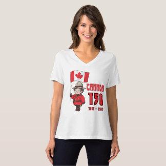 Kanada 150 Jahre Jahrestags- T-Shirt