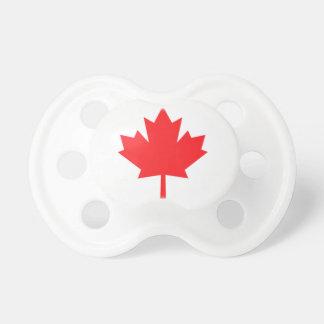 Kanada-Ahorn Blatt-Baby-Schnuller Baby Schnuller