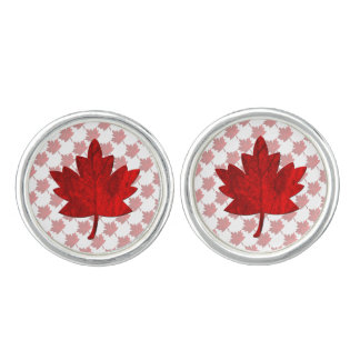 Kanada-Ahorn Blatt durch Shirley Taylor Manschettenknöpfe