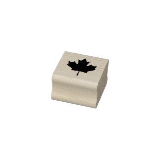 Kanada-Ahorn-Blatt-Gummi-Briefmarke Gummistempel