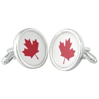 Kanada-Ahornblatt-Manschettenknöpfe Manschettenknöpfe