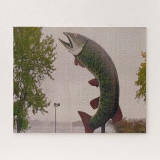 Kanada Alberta parkt das FischMeerwasserleben Puzzle