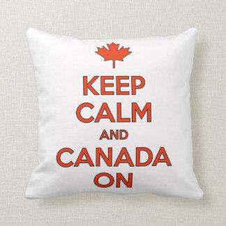 Kanada an u. behalten Muschel-Kissen Kissen