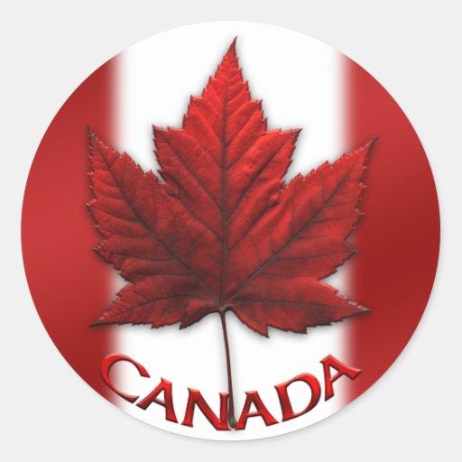 Kanada-Andenken-Aufkleber-Rotahorn-Blatt-Aufkleber