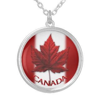 Kanada-Andenken-Halsketten-Kanada-Ahornblatt-Schmu
