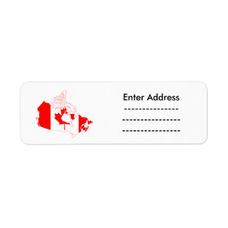 Kanada-Aufkleberaufkleber Leuchtturm-Weg