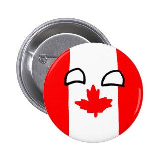 Kanada-Ball-Knopf Button