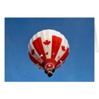Kanada-Ballon Karte