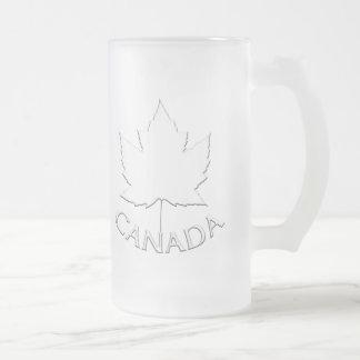 Kanada-Bier-Tassen-Kanada-Ahorn-Blatt-Andenken-Glä
