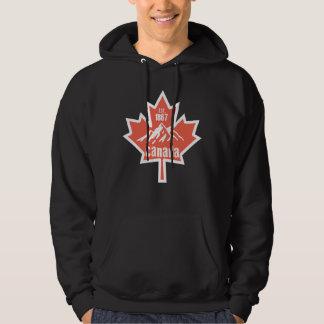 Kanada-Blatt Hoodie