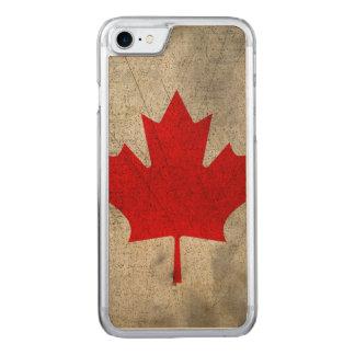 Kanada Carved iPhone 8/7 Hülle