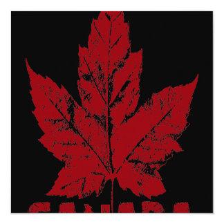 Kanada-Einladungs-personalisiertes cooles Karte