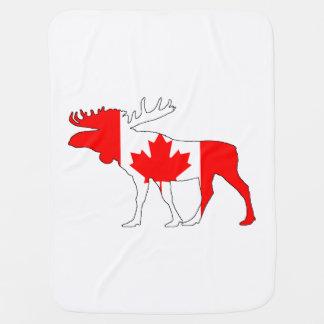 Kanada-Elche Babydecke