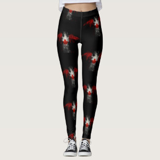 KANADA-FLAGGE EAGLE LEGGINGS