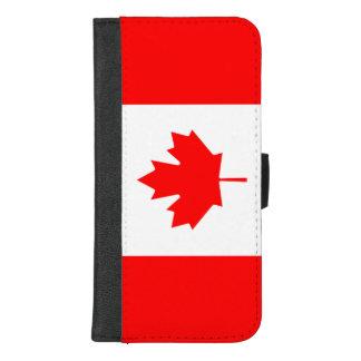 Kanada-Flagge iPhone 8/7 Plus Geldbeutel-Hülle