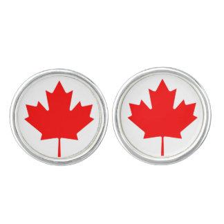 Kanada-Flagge Manschetten Knöpfe