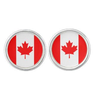 Kanada-Flagge Manschettenknöpfe
