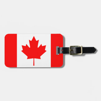 Kanada-Flagge personalisierter Reiseumbau, Kofferanhänger