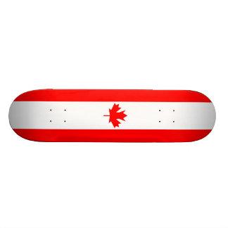Kanada-Flagge - Skateboard 20,1 Cm Skateboard Deck