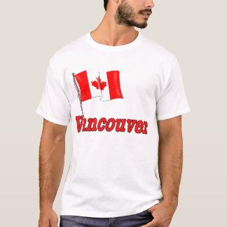 Kanada-Flagge - Vancouver T-Shirt