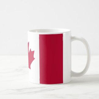 Kanada-Flaggen-Ahornblattentwurf Kaffeetasse