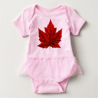 Kanada-Flaggen-Baby Tootoo Kanada Baby-Bodysuits Baby Strampler