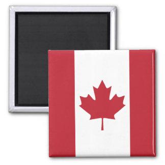 Kanada-Flaggen-Kühlschrankmagnet Quadratischer Magnet