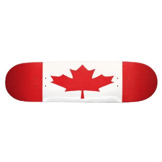 Kanada-Flaggen-Skateboard Individuelles Deck