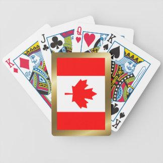 Kanada-Flaggen-Spielkarten Bicycle Spielkarten