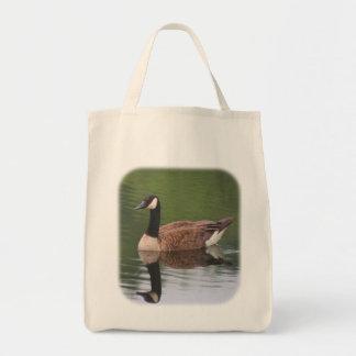 Kanada-Gans-Reflexions-Natur-Taschen-Tasche Tragetasche