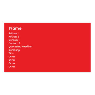 Kanada - Geschäft Visitenkarte