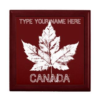 Kanada-Geschenk-Kasten-personalisierter Kanada-Sch Geschenkboxen