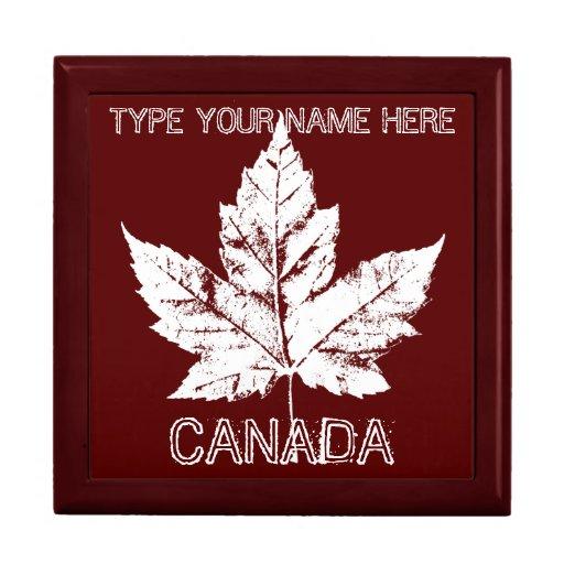 Kanada-Geschenkboxen-personalisierter Kanada-Schmu
