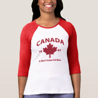 KANADA inspirierte grafisches T-STÜCK T Shirt