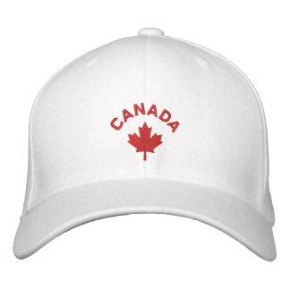 Kanada-Kappe - Rotahorn-Blatt-Hut Bestickte Baseballcaps