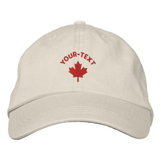 Kanada-Kappe - Rotahorn-Blatt-Hut Baseballcap