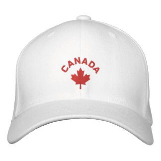 Kanada-Kappe - Rotahorn-Blatt-Hut Bestickte Kappe