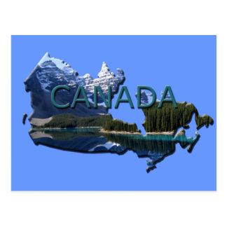 Kanada-Landschaftskarten-Postkarte Postkarte