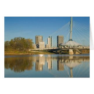 KANADA, Manitoba, Winnipeg: Esplanade-Riel 2 Karte