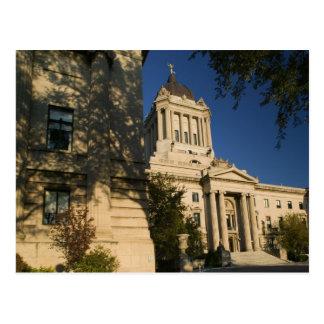 Kanada, Manitoba, Winnipeg: Manitoba Gesetzgebungs Postkarte