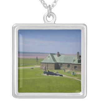 Kanada, New-Brunswick, Aulac. Fort Cumberland Versilberte Kette