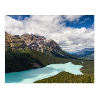 Kanada- - Peyto Seepostkarte Postkarten
