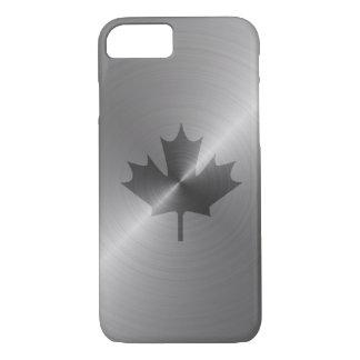 Kanada-Platin-Ahornblatt iPhone 8/7 Hülle