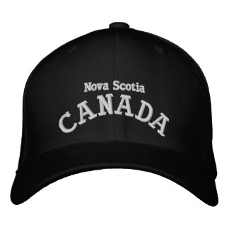 Kanada-Provinzen - gestickter Hut Besticktes Cap