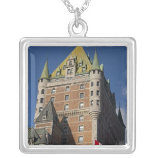 Kanada, Quebec, Québec-Stadt. Fairmont Chateau Versilberte Kette