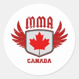 Kanada Runder Aufkleber